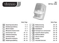 NL3 EDP-No.: 34428 Seite/ Page GB Operating instructions 2 – 3 D ...