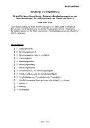Benutzungs- und Entgeltordnung - Elly-Heuss-Knapp-Schule - Stadt ...