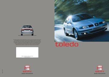 Leaflet Toledo NACIONAL MY' 03 - Museo SEAT