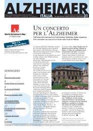 Notiziario 31 - Alzheimer Italia