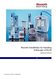 IM-HA Application Manual IndraLogic l20/L40 - Boschrexroth.co.uk