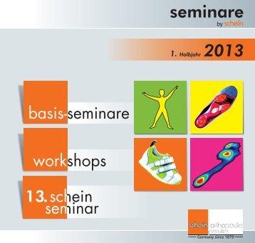 Seminarbroschüre 1. Halbjahr 2013 - Schein