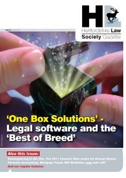 'One Box Solutions' - Legal software and the 'Best of Breed' - insitelaw