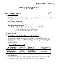 DATE OF MEETING October 5, 2004 - Loudoun County
