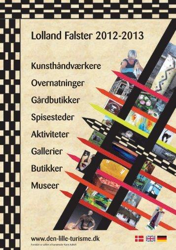 2012/2013 brochuren - Den lille turisme