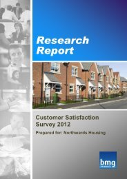 read a PDF of the full report here - Northwards Housing