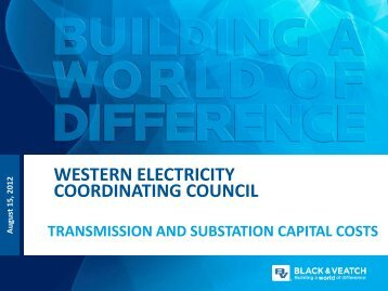 120815_BV_TransCapCost - Western Electricity Coordinating Council