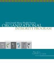 Organizational Integrity Program - Chelsea Community Hospital