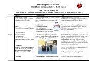 Aktivitetsplan Vår 2010 1. kl og 2. kl basen 3.4. kl basen
