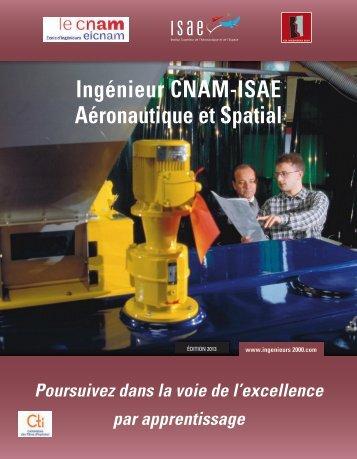 Plaquette ISAE-CNAM-Apprentissage