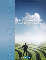 Six Steps to Managing Data Quality with SQL Server Integration ...