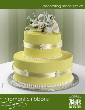 romantic ribbons - Bakery Crafts
