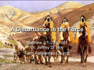 Christmas in February: The God Option - Faith Fellowship Church