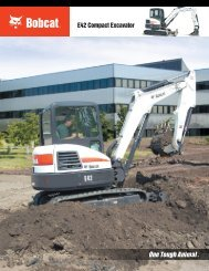 E42 Compact Excavator - Doosan BobCat Chile