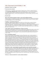 Rozhovor pro Zdravotnické noviny 2006 - Anatomický ústav 1.LF UK