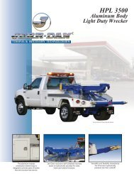 Jerr-Dan Aluminum HPL 3500 - Twin State Equipment