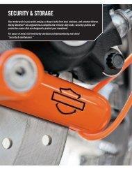 SECURITY & STORAGE - Jersey Harley-Davidson