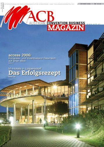 Das Erfolgsrezept - Austrian Convention Bureau