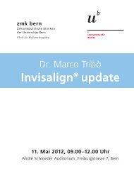 Invisalign® update - zahnmedizinische kliniken zmk bern ...