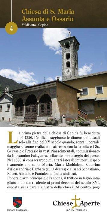 La parrocchiale dell'Assunta di Cepina con il ... - AltaReziaNews