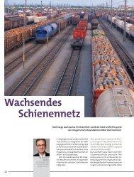 Wachsendes Schienennetz