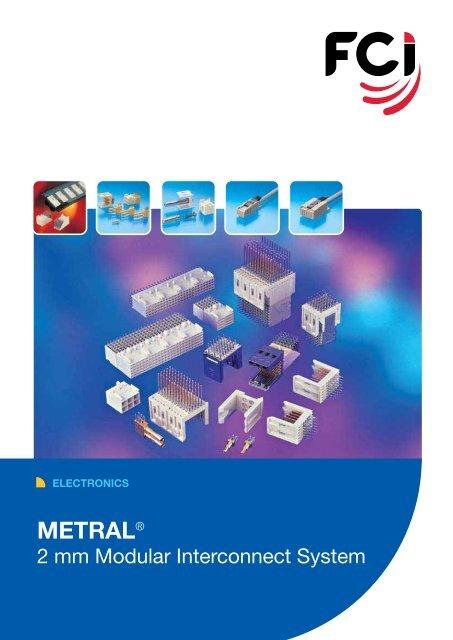 Metral® 2mm Modular Interconnect System - Digikey