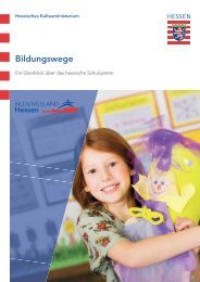 Bildungswege in Hessen
