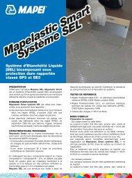 Système d'Etanchéité Liquide (SEL) bicomposant sous ... - Mapei