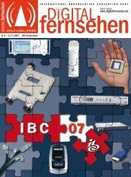 DIGITAL FERNSEHEN-Spezial IBC 2007: HIER klicken zum