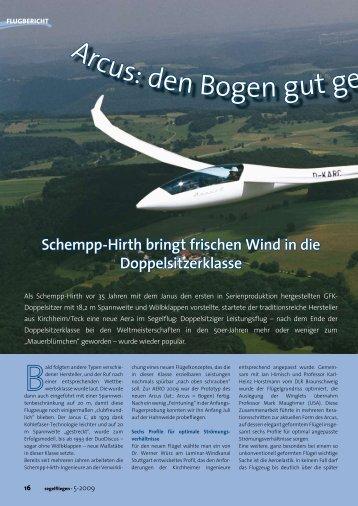Schempp-Hirth bringt frischen Wind in die Doppelsitzerklasse