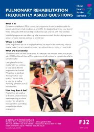 pulmonary rehabilitation frequently asked questions - Chest Heart ...