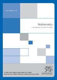 mathematics in the national curriculum for Wales - Digital Education ...