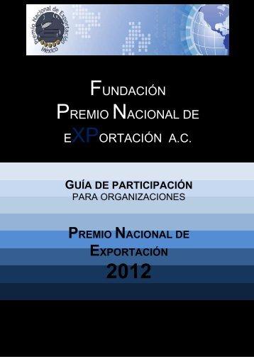 Guía de participación para organizaciones 2012 - ProMéxico