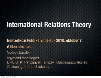 Institutional Liberalism - mono.eik.bme.hu