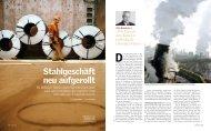 Stahlgeschäft neu aufgerollt - Deutsche Bahn  AG