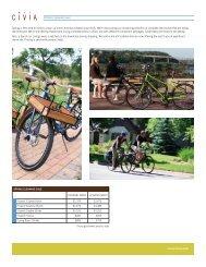 sale flier - Civia Cycles
