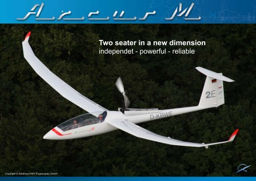 Two seater in a new dimension - Schempp-Hirth