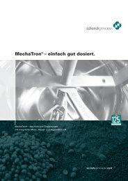 MechaTron® – einfach gut dosiert. - Schenck Process GmbH