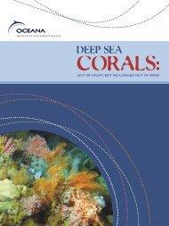 Deep Sea Corals - NOAA's Coral Reef Conservation Program