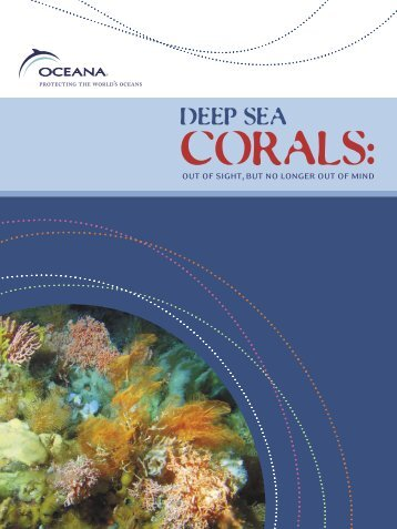 Deep Sea Corals - NOAA's Coral Reef Conservation Program