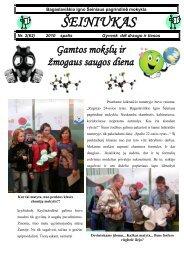 2010-10,Nr.62 - Bagaslaviškio Igno Šeiniaus pagrindinė mokykla
