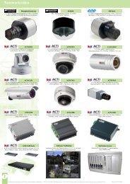 Netzwerkvideo Auszug aus CCTV Katalog - IP CCTV GmbH