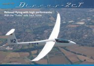Relaxed flying with high performance - Schempp-Hirth