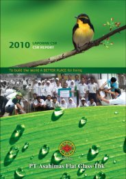 CSR 2010.pdf - Asahimas Flat Glass Tbk, PT.