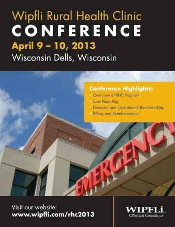 Conference Brochure - Wipfli