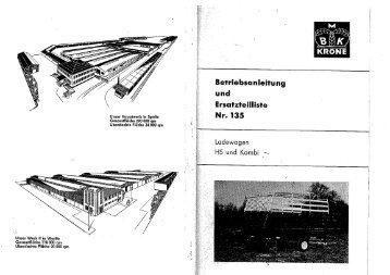 Page 1 Betriebsanleitung und Ersafz1'eillîs1'_e Nr. 135 Lode ...