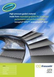 Download brochure novaphit ® MST - Frenzelit Werke GmbH