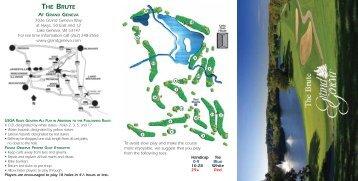 Golf Scorecards - Grand Geneva Resort