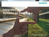 to learn more about Integrated Drive Systems - Siemens Industry, Inc.