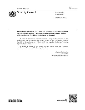 S/2013/162 - Security Council Report
